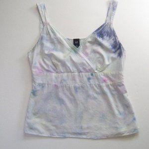 GAP tie dye cotton tank top